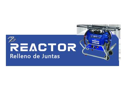 Reactor Relleno de Juntas