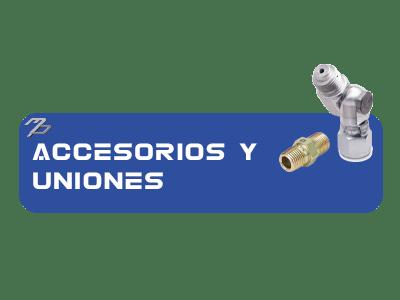 Accesorios y uniones