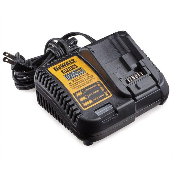 dewalt 20v max cargador para bateria de ion de litio (17p475)